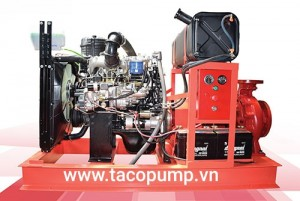 BƠM PCCC HYUNDAI-EBARA D4DB 100HP/75KW
